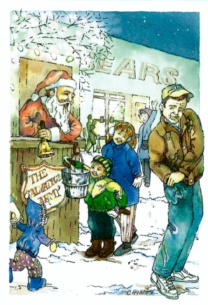 """Charity"" Christmas Card-1992"